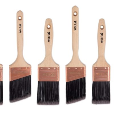 wolf paint brushes