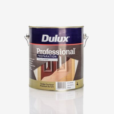Dulux Professional Ultrasmooth Timber Surfacer - 4l.